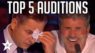 TOP 5 Auditions On Britain
