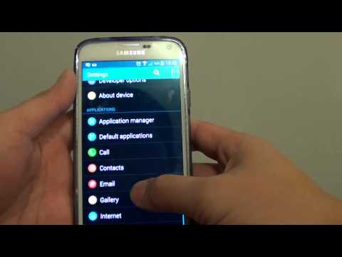 Samsung Galaxy S5: How to Change S Voice Language