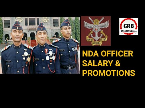 NDA OFFICERS SALARY, PROMOTIONS