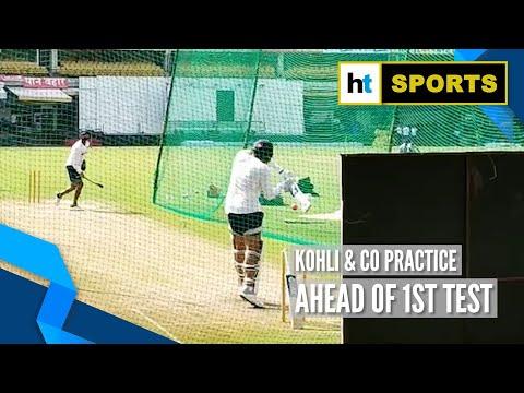 Xxx Mp4 Team India Hit The Nets Ahead Of First Test Against Bangladesh 3gp Sex
