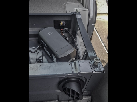 Espar Diesel Heater Install in a Mercedes Sprinter Camper Van