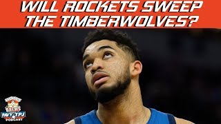Will Rockets Sweep Timberwolves ? | Hoops N Brews