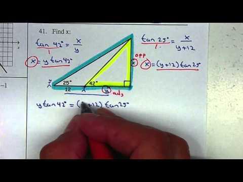 P38 - Trig Unit 2 - Solve Triangle Complex
