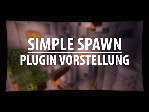 Simple × Spawn | Minecraft Plugin - Vorstellung | German [Bukkit/Spigot]