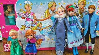 Elsa and Anna toddlers get Barbie