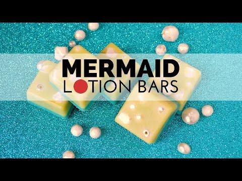 How to Make Mermaid Lotion Bars