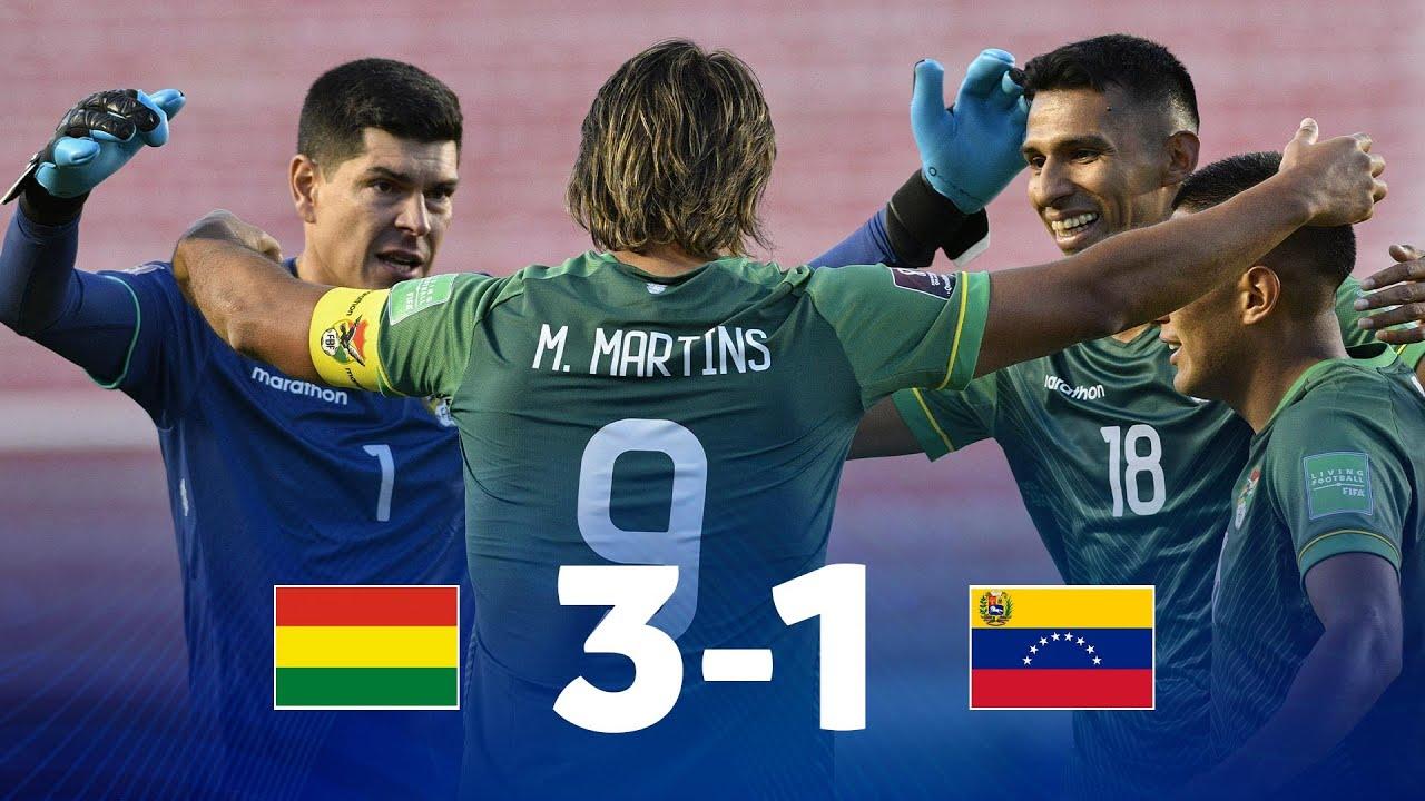 Eliminatorias Sudamericanas   Bolivia vs Venezuela   Fecha 7