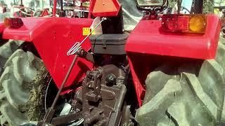 Massey Ferguson 7250 super drive in new shaktiman Rotavator