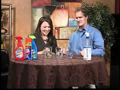 Carpet cleaning without using soap or chemicals
