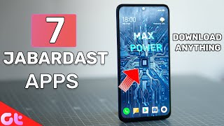 Download TOP 7 NEW & POWERFUL Android Apps for SEPT 2019 | GT Hindi Video