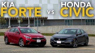2019 Kia Forte vs Honda Civic