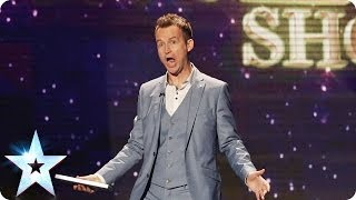 Impersonator Jon Clegg does Ant and Dec | Britain's Got Talent 2014
