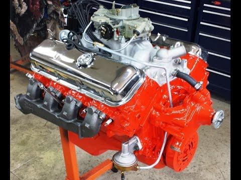 1969 Chevy 427 Dyno Test