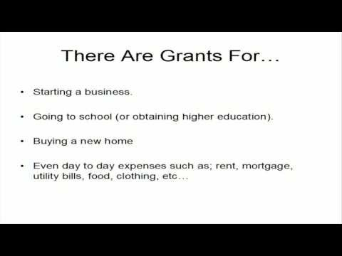 Federal Grant Money - Tricks To Getting Free Federal Grant Money