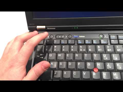 How to enable wireless ThinkPad T410