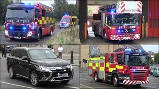 [Life Risk Tones] Fire Trucks, Engines, Police Cars and Ambulances responding
