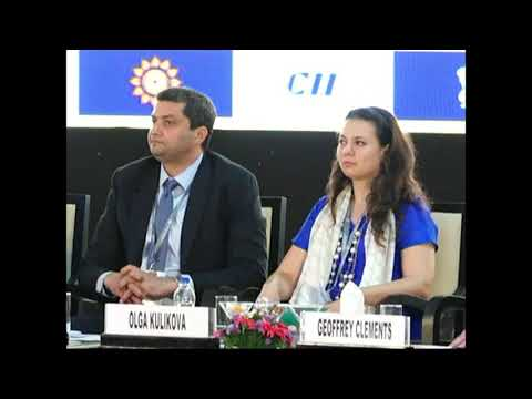 CII Partnership Summit 2018 !! sabyasachi mitra-julian michael bevis-siva kumar -geoffrey clements