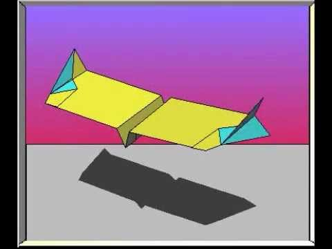 Chinook Paper Airplane