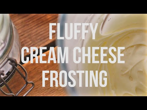 Fluffy Cream Cheese Frosting - The 60 Second Chef
