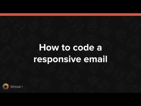 Responsive Email 101: HTML + CSS Basics [Webinar]