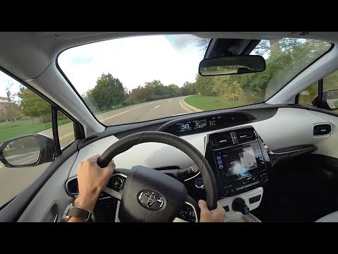 A Week in the 2017 Toyota Prius Prime Plus - POV Driving Impressions (Binaural Audio)