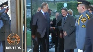 Cyprus peace talks begin in Geneva