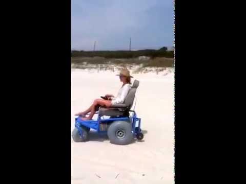Beach Cruiser in action on Panama City Beach, FL
