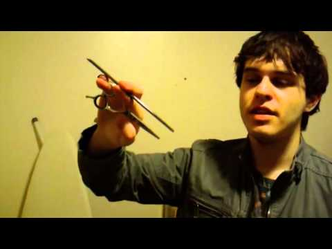 How To Do Silly Hair Stylist Tricks With Your Comb & Shears