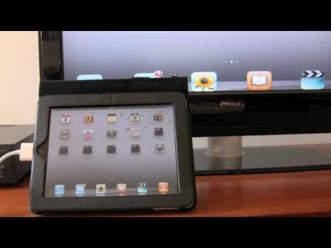 iPad 1 Full screen Mirroring on a HDTV