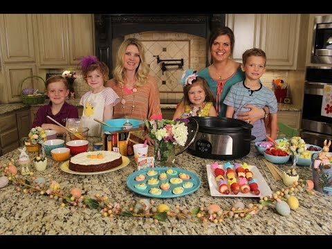 Easter Favorites: Carrot Cake, Dyed Eggs, and Peep Kabobs - Crockin' Girls