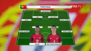 Match 2 - Portugal v Mexico -Team Lineups - FIFA Confederations Cup 2017