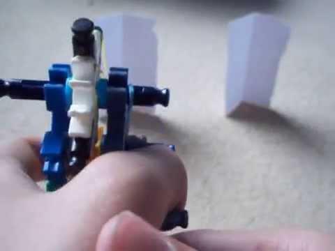 Compact Knex Semi-Auto Gun