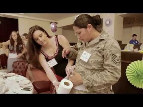 Special Delivery Arrives at USO Okinawa for Military Moms-To-Be