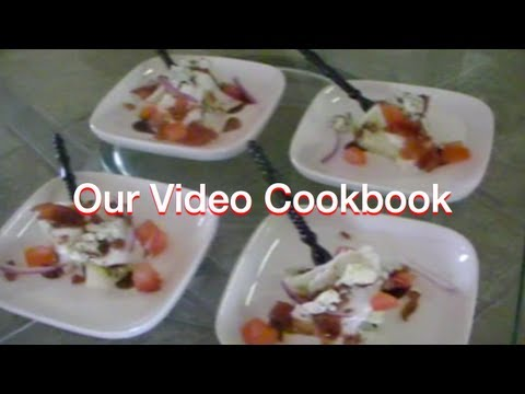 How to make Micro Wedge Salad - Finger Food Recipe | Our Video Cookbook #101