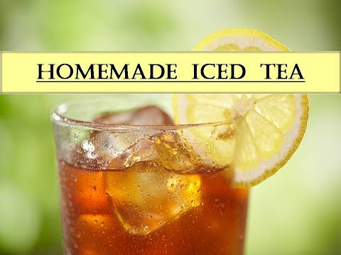 How To Make Iced Tea   Easy Way   Channel M