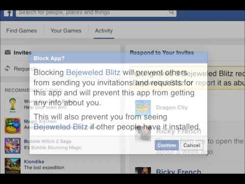 How to Stop Those Annoying Facebook Game Requests