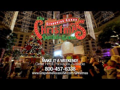 The Christmas Capital of Texas: Grapevine Texas 2015