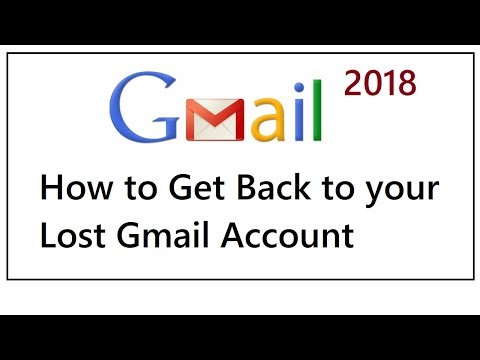 How to Get Back to your Lost Gmail Account