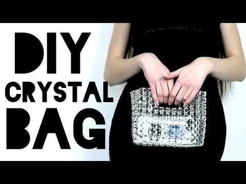 DIY Crystal Purse For Prom 2018!! Chandalier Purse!!