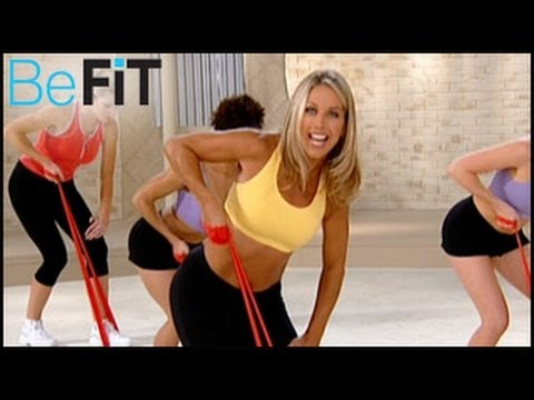 Denise Austin: Upper Body Resistance Workout- Arms, Chest & Shoulders