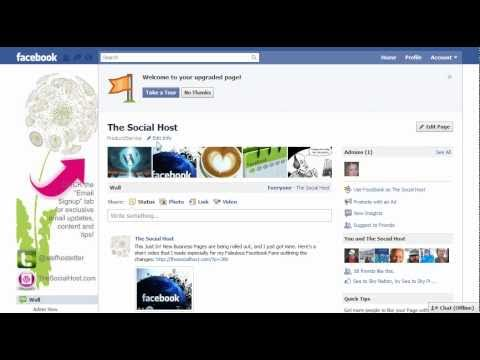The Social Host - Changing the Company Category on your Facebook Page