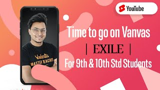 Time to Go on Vanvas (Exile) 🚵♀️ For 9th & 10th Std Students #Shorts Abhishek Sir 🔥   Vedantu