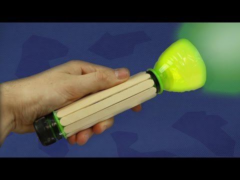 Make a Plastic Bottle Flashlight - Ultra Bright Torch