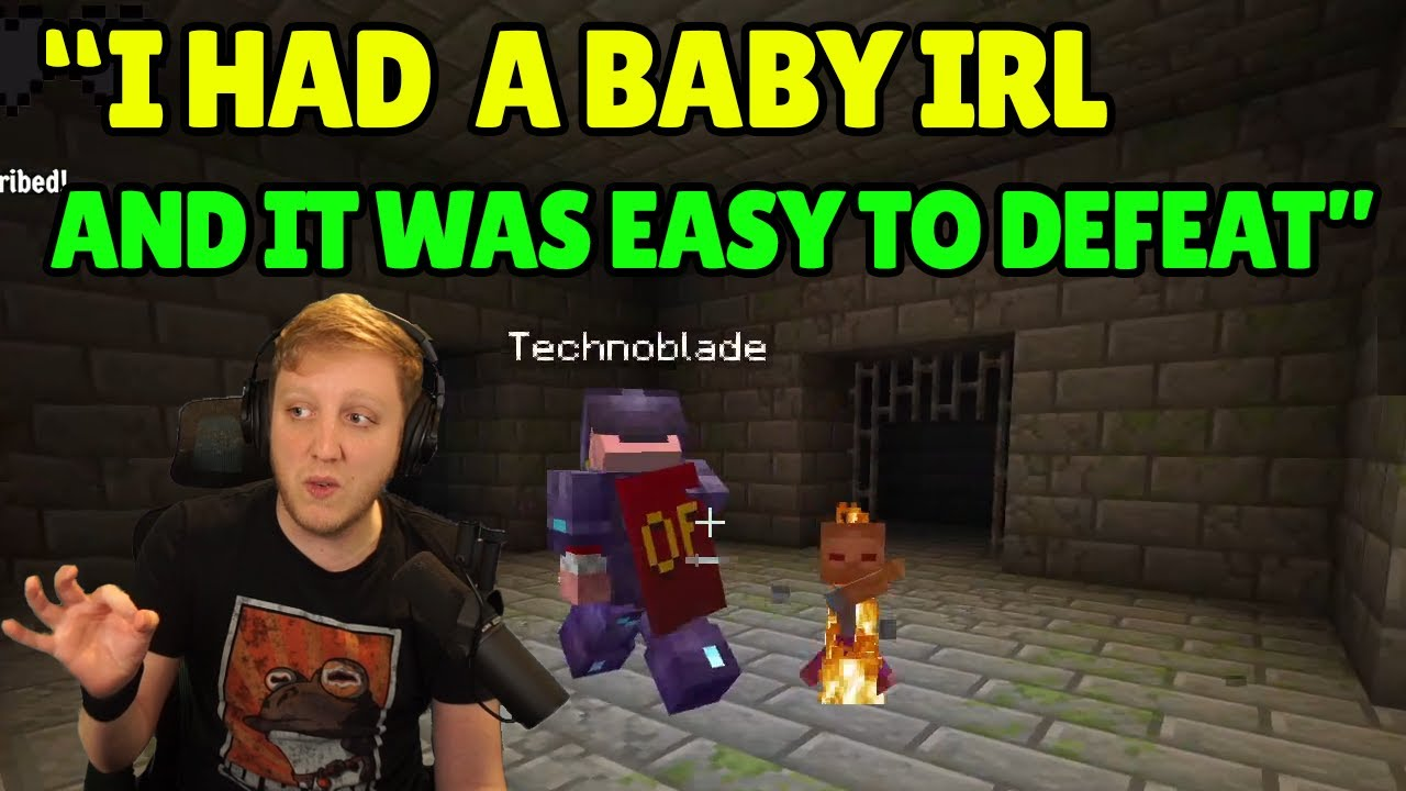 Technoblade and Philza being funny for 11 minutes straight... (Dream SMP)