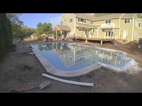 Back Yard Pool Patio Make Over