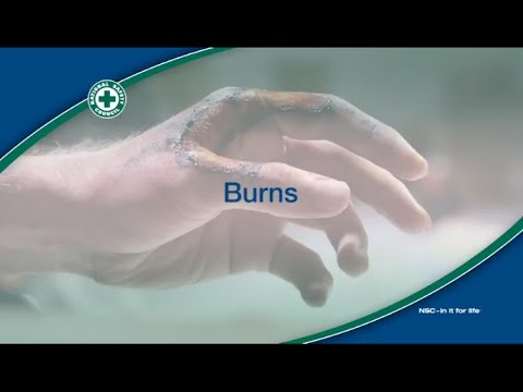 Treatment of burns
