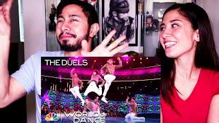 FINAL DESI HOPPERS REACTION - THE DUELS | World of Dance 2018