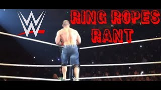 WWE Wrestling Ring Rope RANT 2018! #WWE #RAW #SDLIVE #youtube