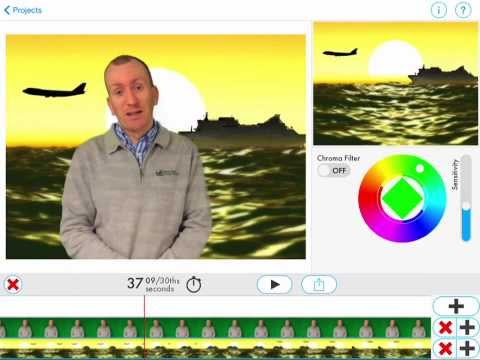 How to Green Screen on the iPad