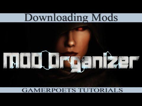 Mod Organizer : Downloading Mods & Management : 2 of 4